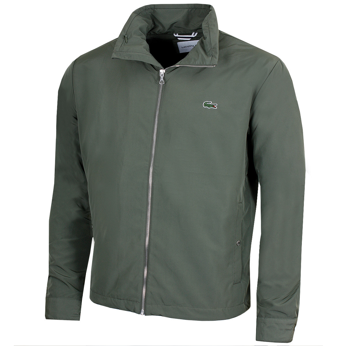 bbb1e506a9 Lacoste Mens BH6121 Embroidered Blouson Jacket