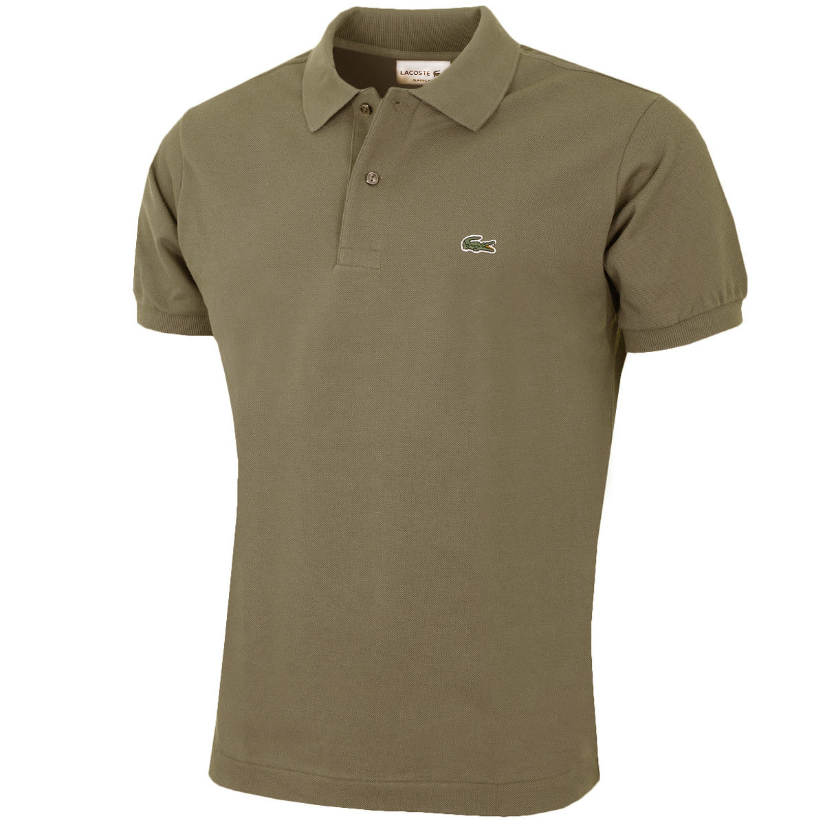 f6c3afa81 Lacoste Mens Classic Cotton L1212 Short Sleeve Polo Shirt