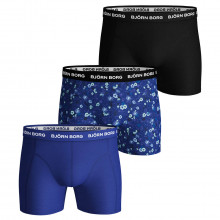 Bjorn Borg 2020 BB LA Flower Sammy Shorts Medium Leg Mid-rise Mens Boxers