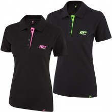 MusclePharm Womens Cotton Pique Polo Shirt