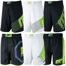 MusclePharm Mens Printed MP Woven Shorts