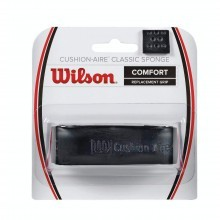 Wilson Cushion Aire Classic Sponge Replacement Grip  - Black  One Size