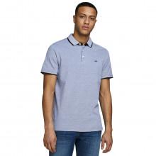Jack & Jones 2021 Classic Pique Knit Short Sleeve Cotton Mens Polo Shirt