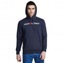 Jack & Jones 2021 Old Logo Soft Cotton Blend Pullover Mens Hoody