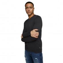 Jack & Jones 2021 Basic Knit V Neck Regular Fit Classic Cotton Mens Sweater