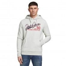 Jack & Jones 2021 Logo Sweat Sweater Pullover Fleece Mens Hoody