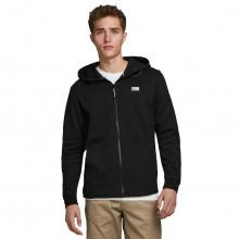 Jack & Jones 2021 Zipped Through Adjustable Hood Full Zip Hoodie Mens Hoody