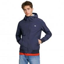 Jack & Jones 2021 Hooded Lightweight Zipped Pockets Soft Feel Mens Jacket