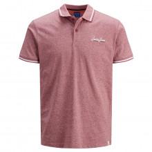 Jack & Jones 2021 Single Jersey Stretch Cotton 2 Button Casual Mens Polo Shirt