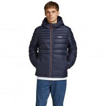 Jack & Jones 2021 Hooded Nylon Puffer Regular Fit Durable Mens Jacket