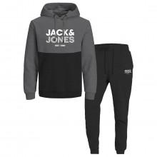 Jack & Jones 2021 Miller Colour Block Drawcord Mens Tracksuit
