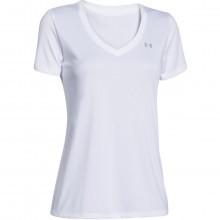 Under Armour Womens UA Tech Solid V Neck T Shirt