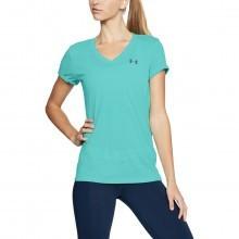 Under Armour Womens Theadborne Twist V Neck T-Shirt