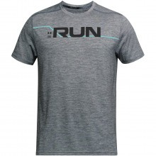 Under Armour Mens Run Front Graphic T-Shirt