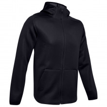 Under Armour Move Moisture Wicking Stretch Breathable Full Zip Mens Hoodie