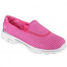 Skechers Womens Go Walk 3 Slip On Walking Shoes