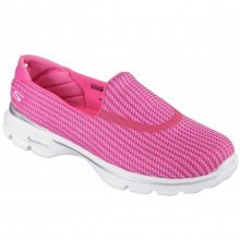 Skechers Womens Go Walk 3 Slip On Walking Shoes