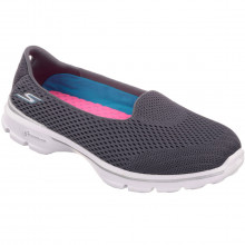 Skechers Womens Go Walk 3 Insight Slip On Shoes