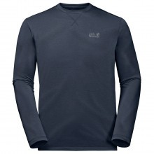 Jack Wolfskin  Mens Crosstail Long Sleeve T shirt