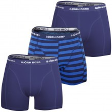 Bjorn Borg Stripe Sammy 3-Pack Boxer Shorts