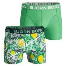 Bjorn Borg 2019 BB LA Lemon 2 Pack Mens Boxers