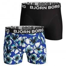 Bjorn Borg 2019 BB LA Hibiskus 2 Pack Mens Boxers