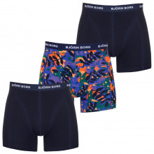 Bjorn Borg BB Winter Leaf Sammy 3 Pack Mens Boxers