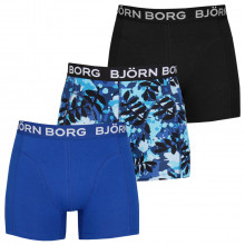 Bjorn Borg 2020 La Leaf Sammy Shorts 3 Pack Mens Boxer Briefs