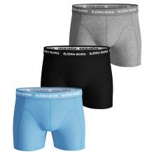 Bjorn Borg 2020 Seasonal Solid Sammy Shorts Medium Leg Microfiber Mens Boxers
