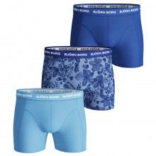 Bjorn Borg 2020 BB Fiji Flower Sammy Shorts Medium Leg Microfiber Mens Boxers