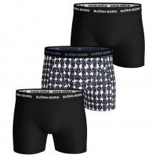 Bjorn Borg 2020 Houndstooth Sammy 3 Pack Comfort Mens Boxers