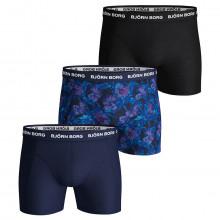 Bjorn Borg Flower Sammy 3 Pack Comfort Cotton Mens Boxers