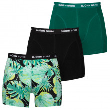 Bjorn Borg LA Garden Sammy 3 Pack Comfort Cotton Mens Boxers