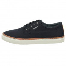 GANT 2021 Prepville Low Lace Twill Fabric Recycled Foam Plimsoll Mens Shoes
