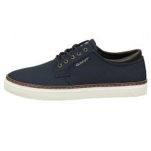 GANT 2021 Prepville Low Lace Casual Leather Cotton Lining Classic Mens Shoes