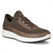 Ecco Soft 7 Runner M Lightweight Breathable Leather Mens Trainers