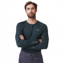 Helly Hansen 2020 LifaActive Moisture Wicking Long Sleeve Crew Mens Baselayer