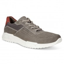 Ecco Mens Luca Suede Trainers