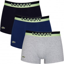 Lacoste 2020 5H3388 Stretch Sport Inspired Crocodile 3 pack Mens Boxer Briefs