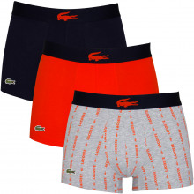 Lacoste 2020 5H3415 French Flag Soft Touch Stretch 3 pack Mens Boxer Briefs
