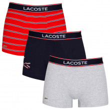 Lacoste 2020 5H3424 Soft Touch Stretch Crocodile 3 pack Mens Boxer Briefs