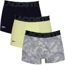 Lacoste 2020 5H5581 Stretch Fabric Crocodile 3 pack Mens Boxer Briefs