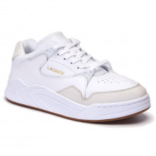 Lacoste Court Slam 319 2 SMA Durable Lightweight Leather Mens Trainers