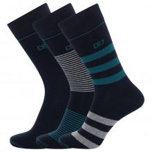CR7 Cristiano Ronaldo 3-Pack Breathable Fashion Cotton Comfort Mens Socks