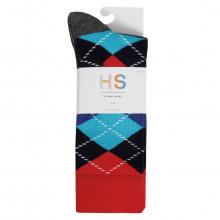 Happy Socks 2021 Waterfall 3-Pack Regular Fit Comfort Cotton Mens Socks