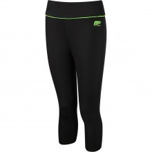 MusclePharm Womens MP Printed Capri Pant Ladies Gym Training Tights