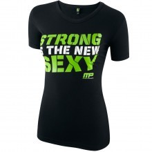 MusclePharm Womens Short Sleeve Printed T Shirt Stretch Top