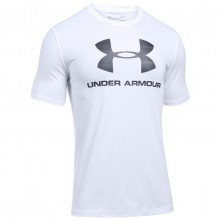 Under Armour  Mens Charged Sportstyle Logo T Shirt