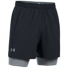 Under Armour  Mens UA Qualifier 2-IN-1 Shorts