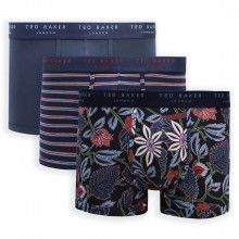 Ted Baker 3-Pack Patterned Breathable Comfort Trunk Mens Boxer Briefs